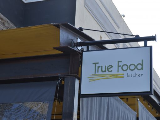 True Foods Blade Sign