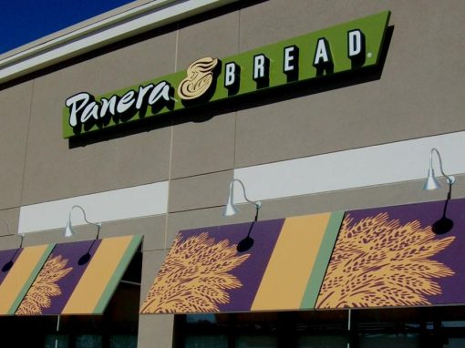 Panera Bread Awnings