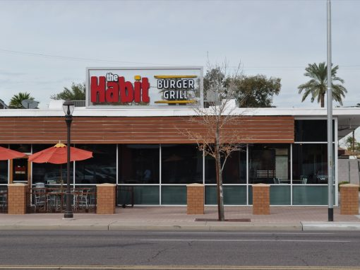 The Habit Roof Top Sign