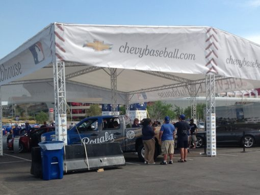 Chevrolet Clubhouse Tent