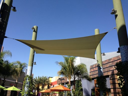 Tension Fabric Shade Sail