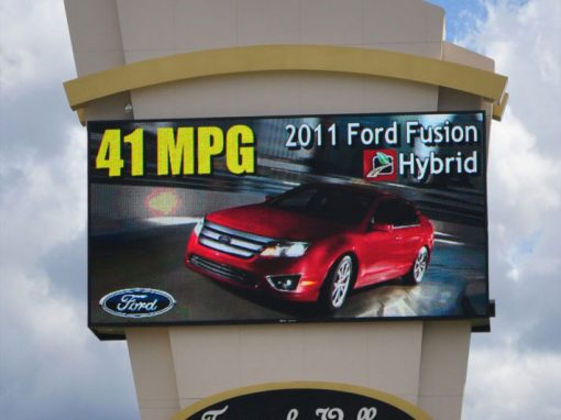 Temecula Auto Mall LED Large Frame Display